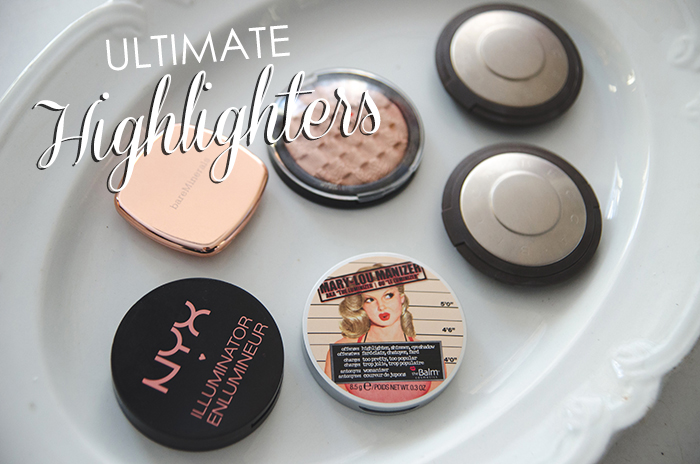 The Ultimate Highlighters – Review & Swatches