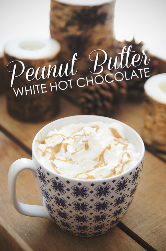 Peanut Butter White Hot Chocolate