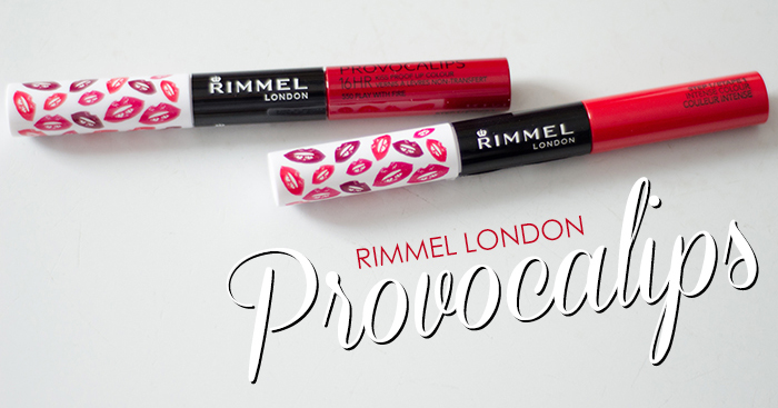 Rimmel London Provocalips – Review & Swatches