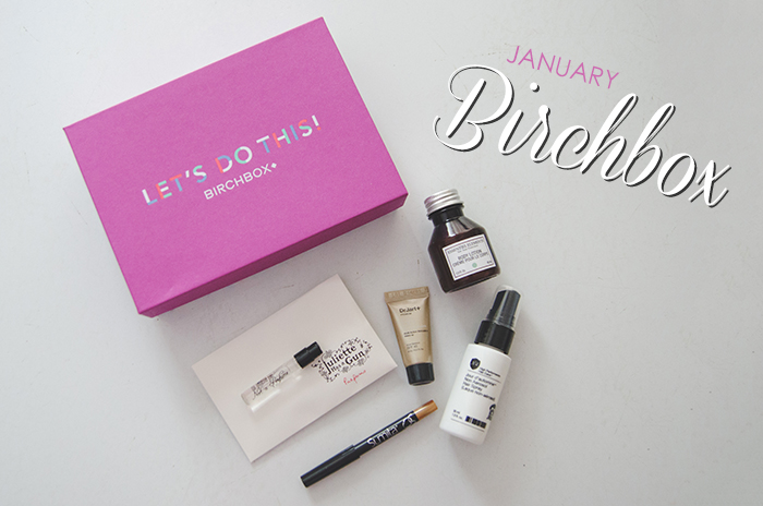 January Birchbox – Review