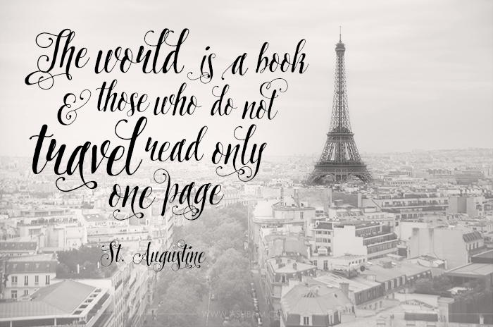 To Inspire Tuesday – The World is a Book