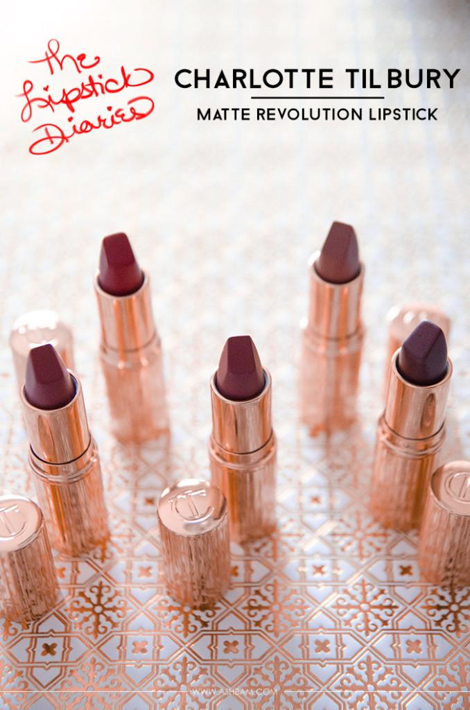 The Lipstick Diaries: Charlotte Tilbury Matte Revolution Lipstick