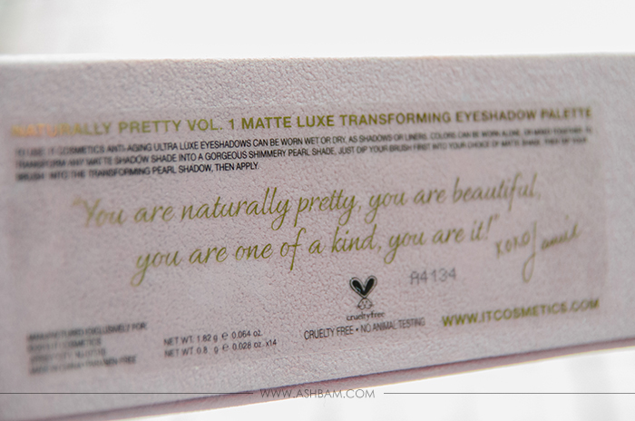 It Cosmetics Naturally Pretty