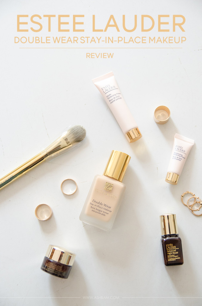 Estee Lauder Double Wear Stay-In-Place Makeup – Review