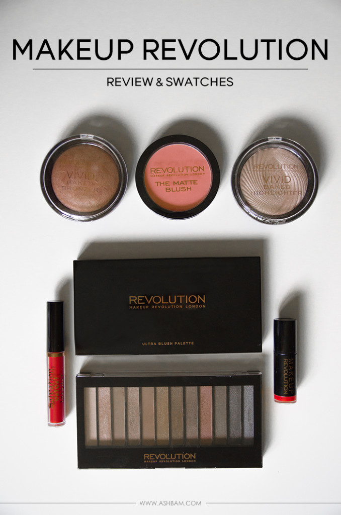 UK's Makeup Revolution Comes to Ulta – Review & Swatches