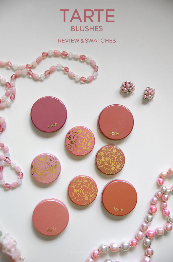 Tarte Blushes – Review & Swatches