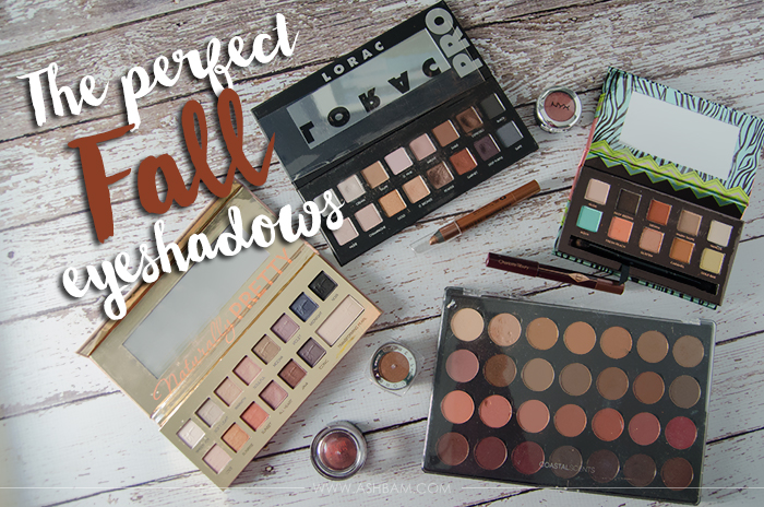 The Perfect Fall Eyeshadows