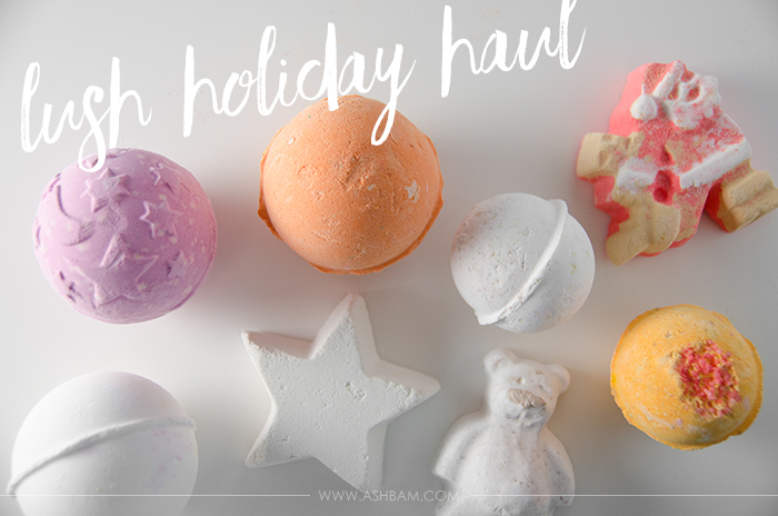 Lush Holiday Haul