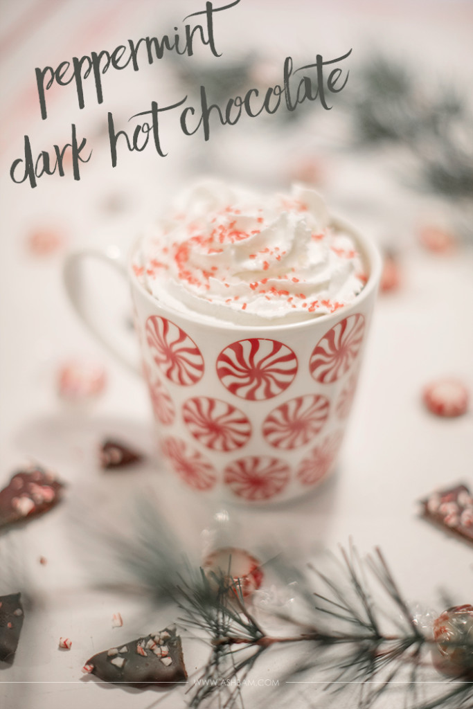 Peppermint Dark Hot Chocolate Recipe