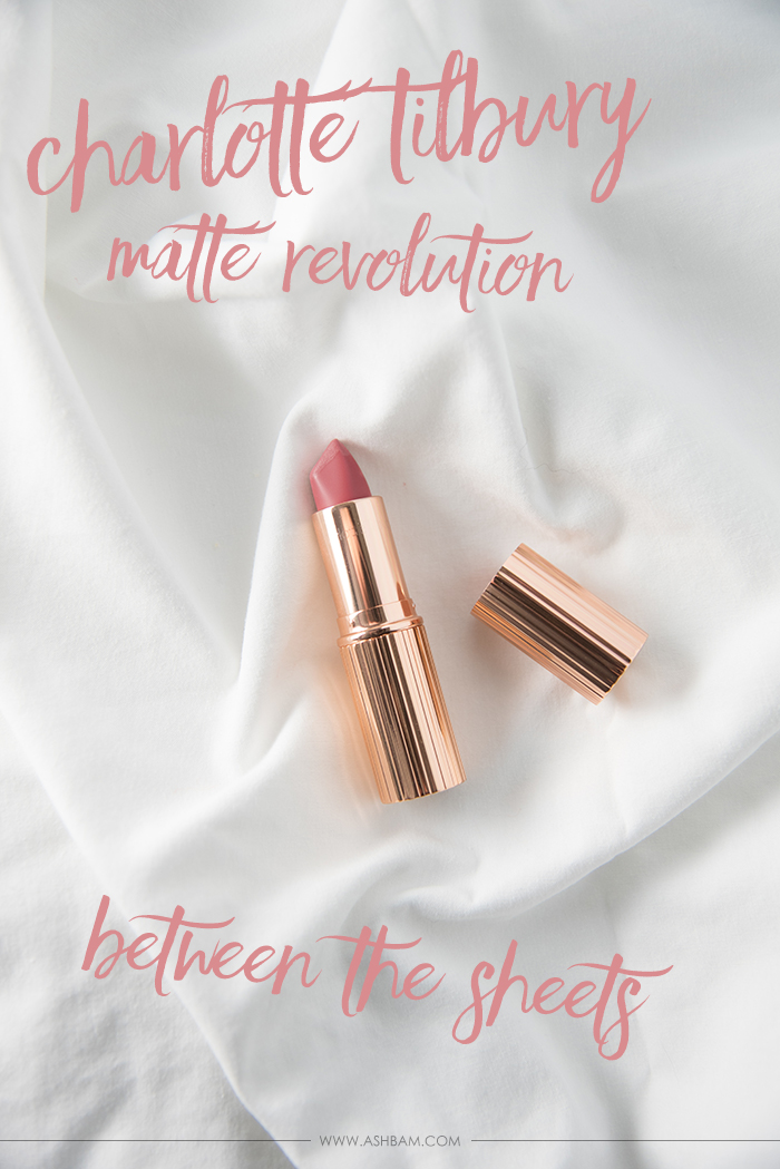 Charlotte Tilbury Matte Revolution in Between the Sheets – Review & Swatches
