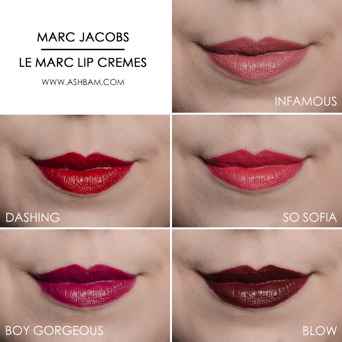 Marc Jacobs The Sofia – Five Piece Lip Crème Collection