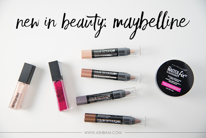 New In Beauty: Maybelline
