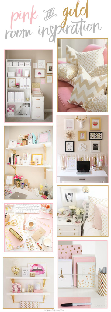 Pinspiration – Pink & Gold Room Inspiration