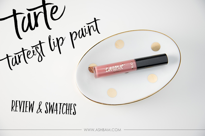 The Lipstick Diaries: Tarte Tarteist Lip Paint