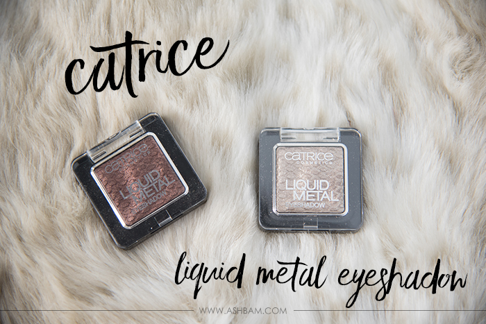 Catrice Liquid Metal Eyeshadow – Review & Swatches