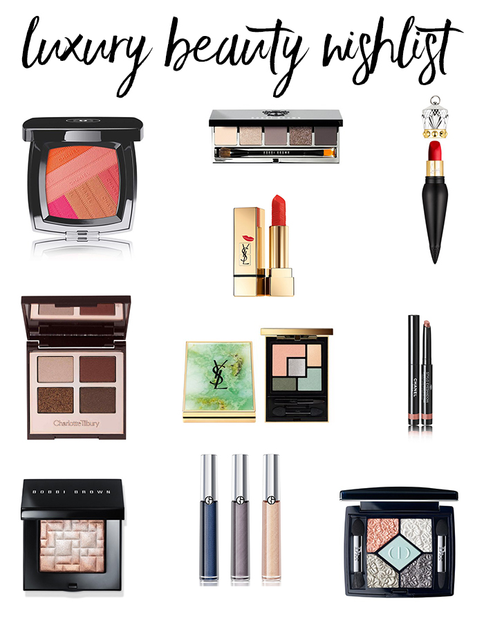 Luxury Beauty Wishlist