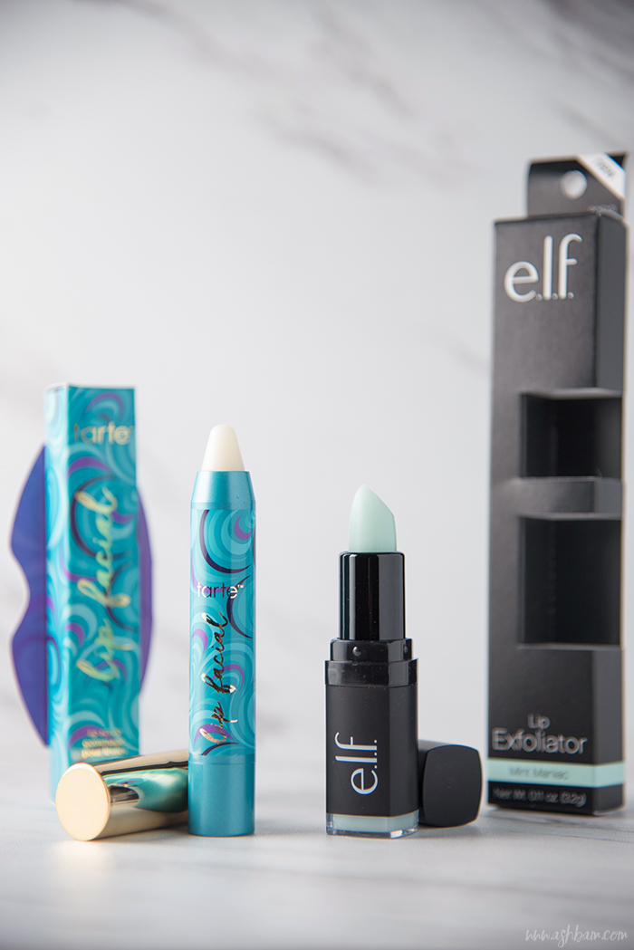 Tarte Lip Facial vs elf Lip Exfoliator
